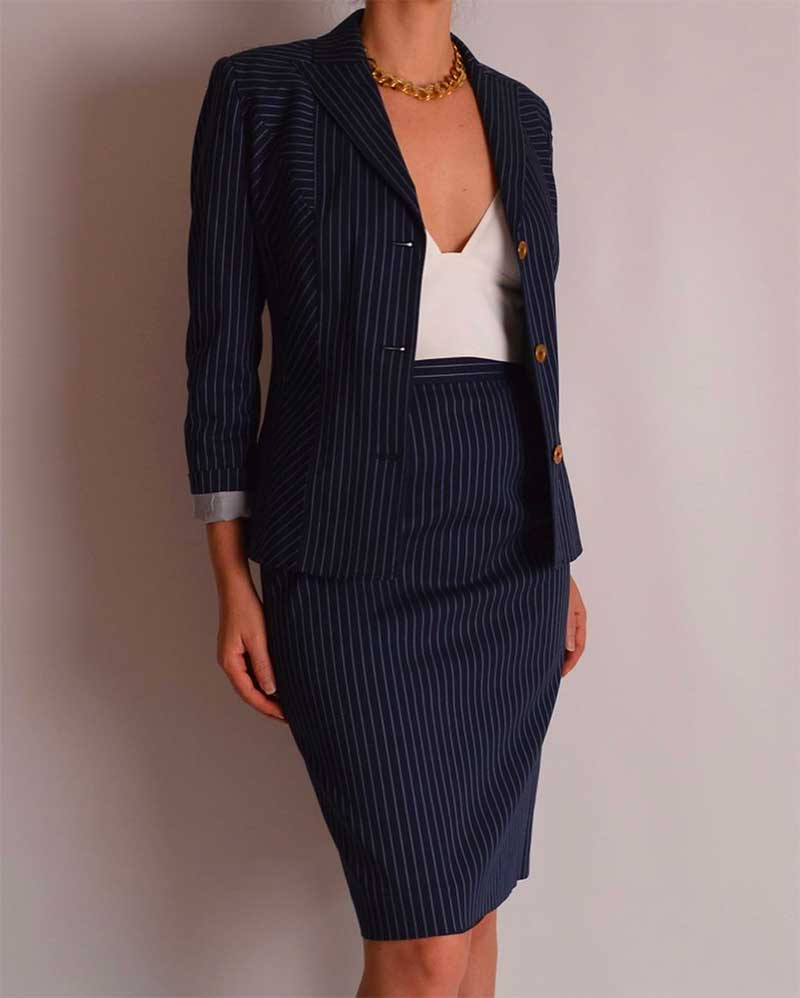 Anything about fall/winter fashion 2020:  Skirt suits