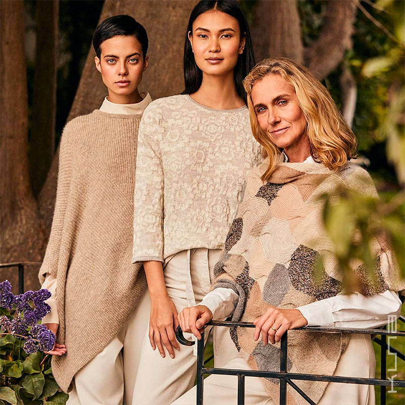 Luxury Strikes Back in Style - Alpaca Ruanas, Ponchos, and Capes in Fashion