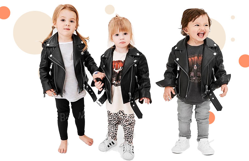 What to Look for When Shopping for Kids Leather Motorcycle Jackets