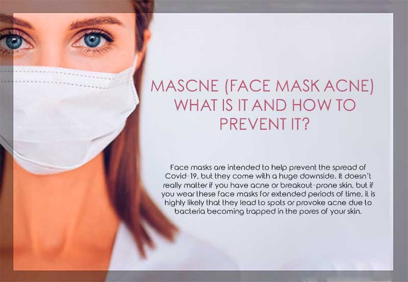 Mascne (Face Mask Acne) - What is it and how to prevent it?