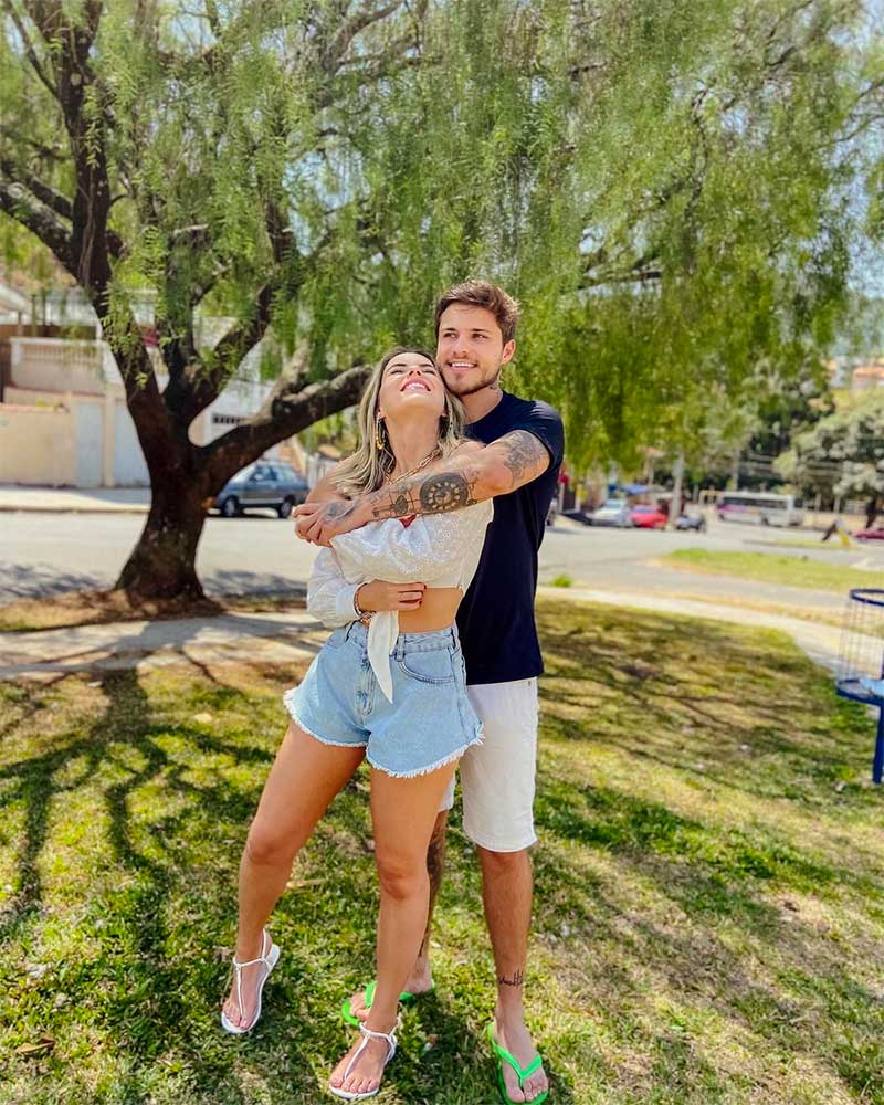 Show Him Affection in Public