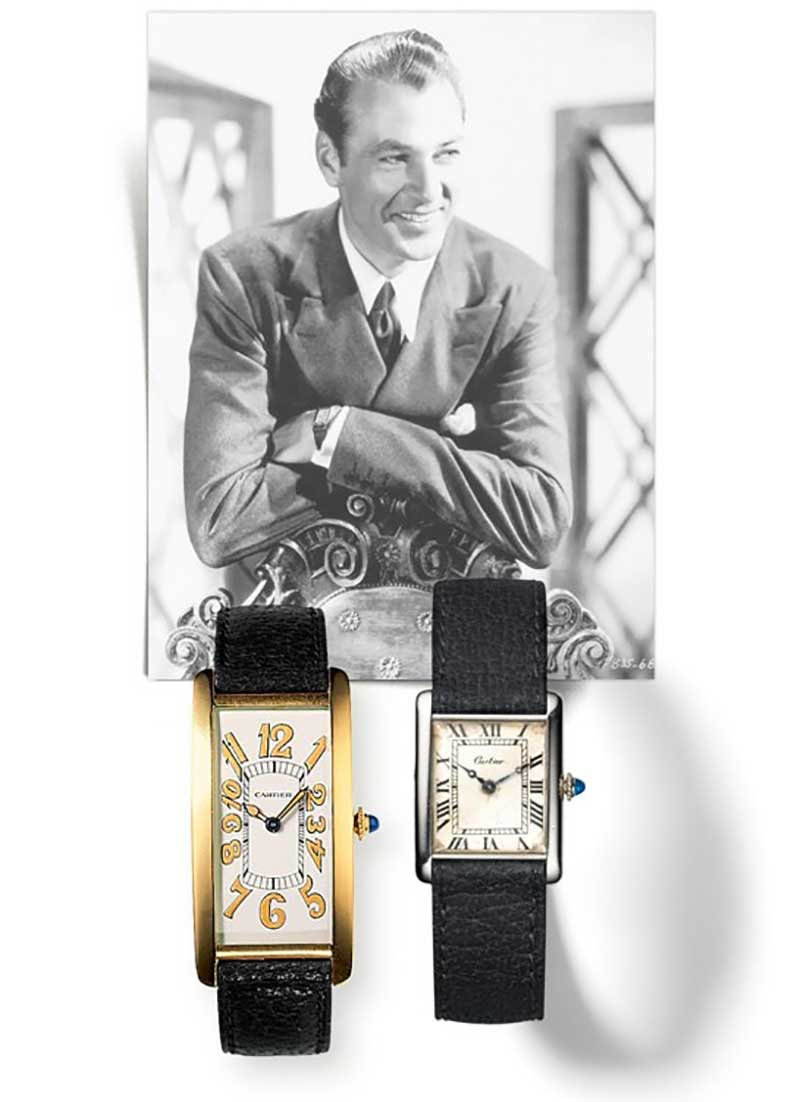 Cary Grant Cartier Tank Watch