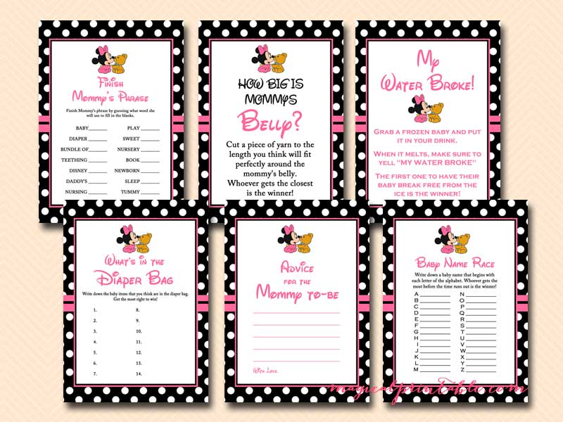 Free Party Games & Printable Activities