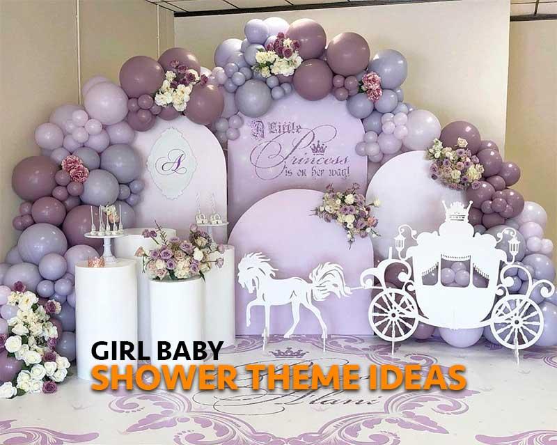 Girl Baby Shower Theme Ideas