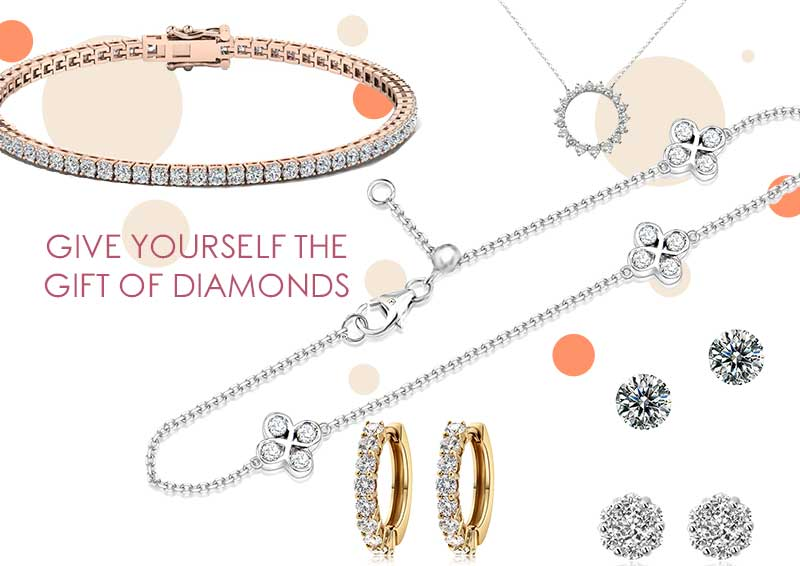 Give Yourself The Gift Of Diamonds