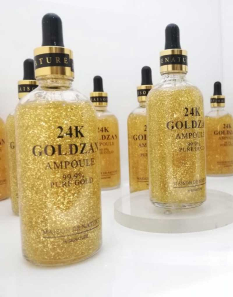 How To Apply Gold Serum