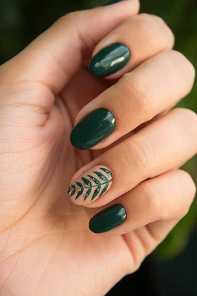 Nail polish – The obvious choice