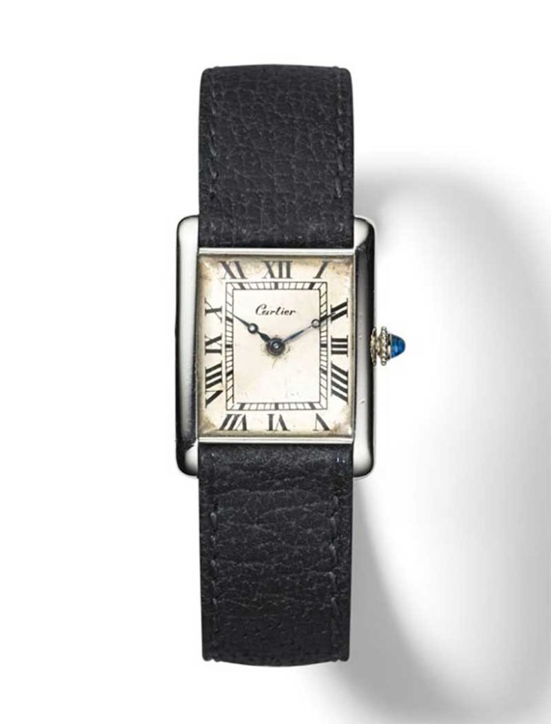 Tank Louis Cartier wristwatch, 1925