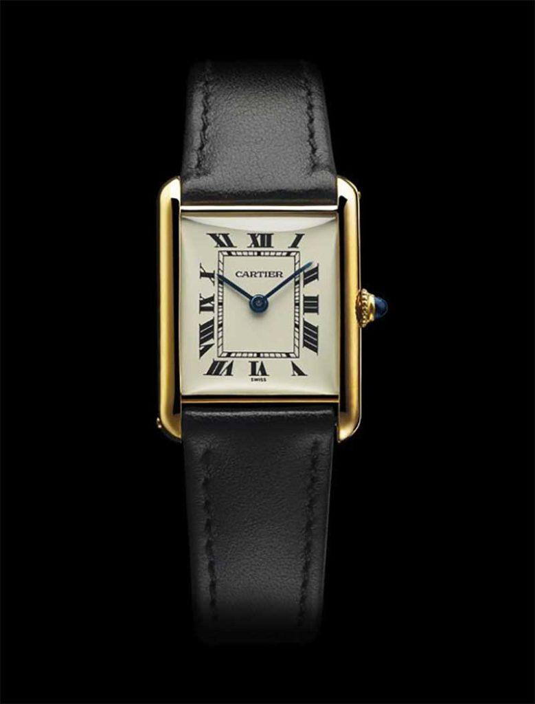 Tank Louis Cartier wristwatch, 1944.