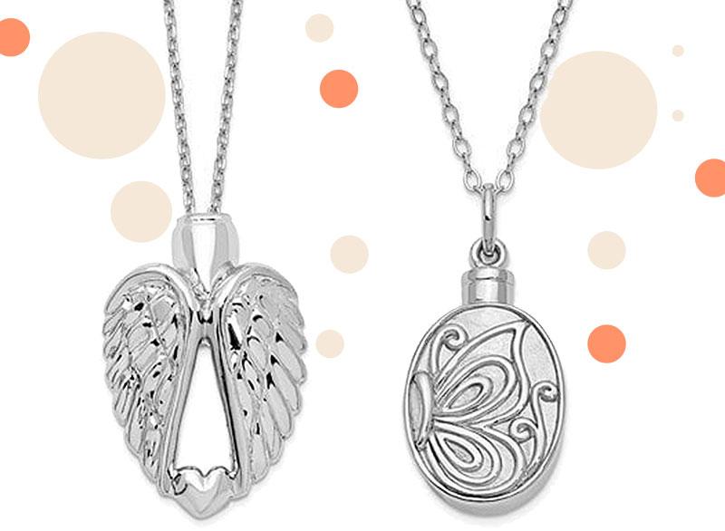 Ash Holder Pendant Necklaces