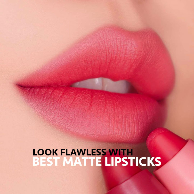 Look Flawless with the Best Matte Lipsticks
