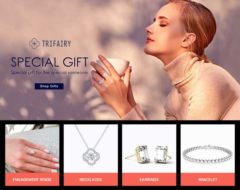 The Best Moissanite for Sale by Trifairy