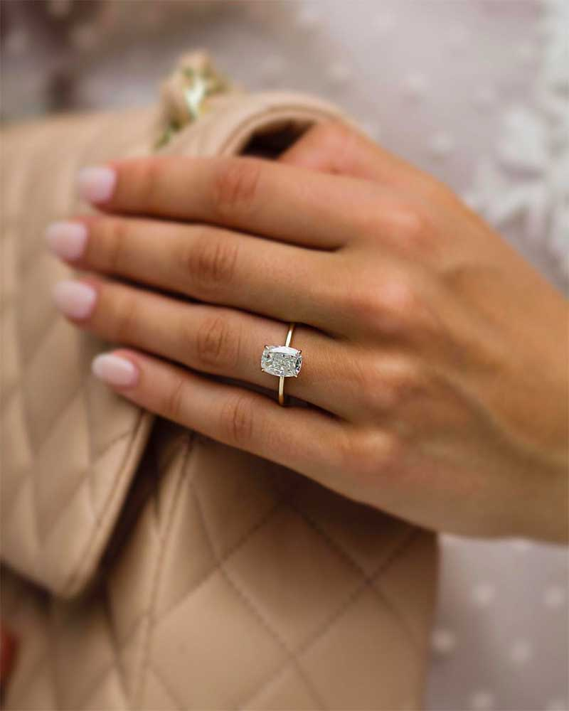 Picking an engagement ring can be quite the task for any man