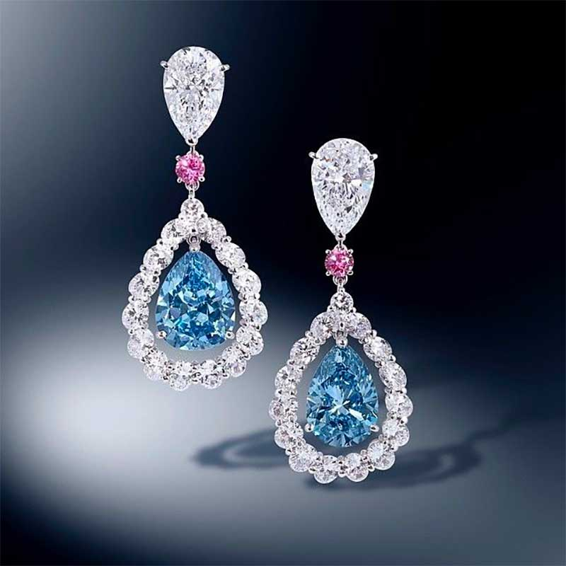Blue diamond, types of blue gemstones