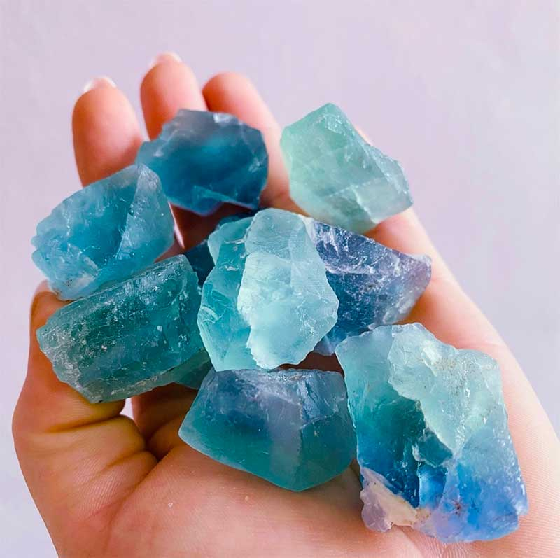 10 Blue Gemstones You Never Knew Existed: Blue Fluorite