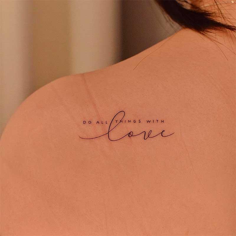 Small Tattoo Designs - Always Fashionable among Women
