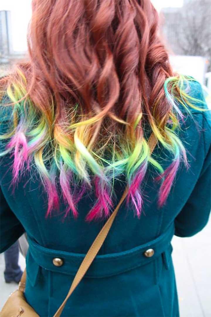 Gradient Rainbow Tips