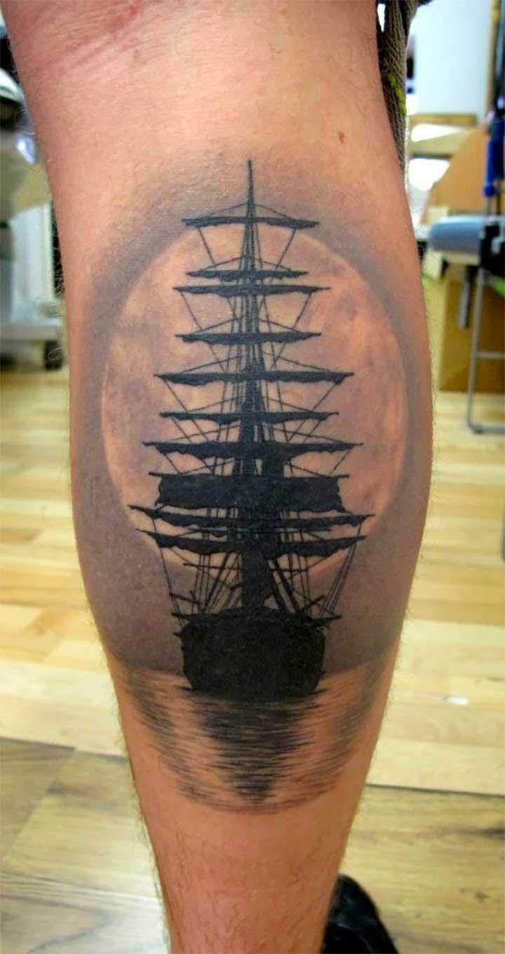 Ship ahoy Sailor jerry tattoos