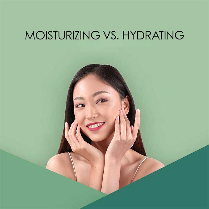 Moisturizing vs. Hydrating: Get to Know The Difference with Nature Republic
