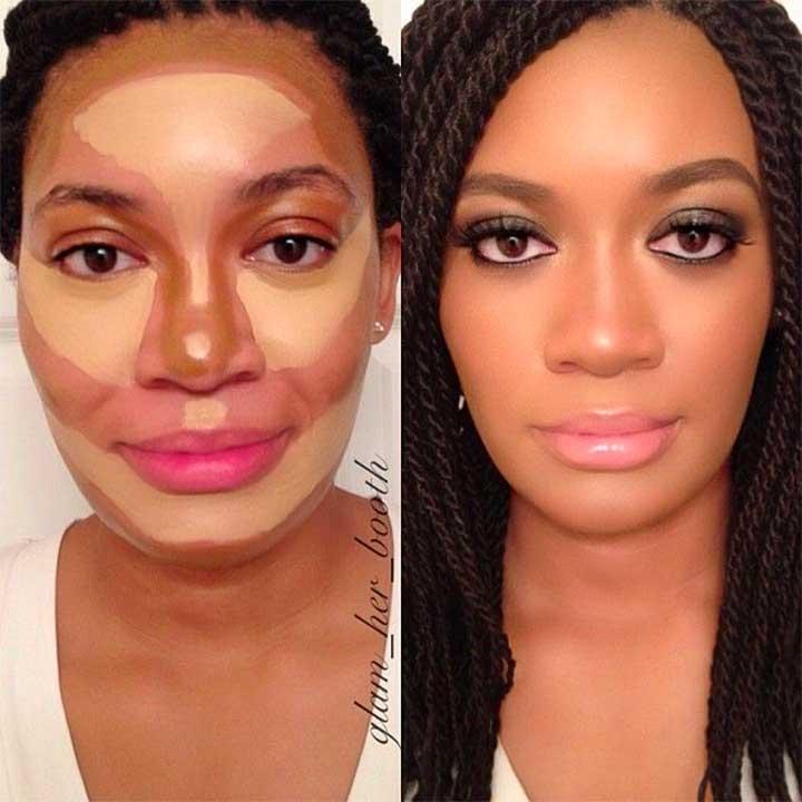 Sunless Tan with Makeup