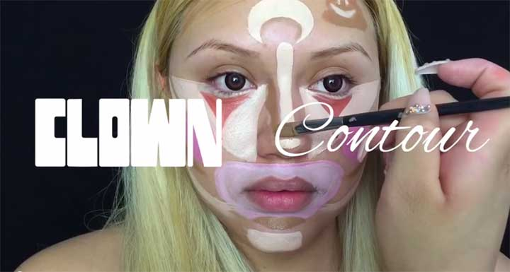What Exactly Is Clown Contouring?