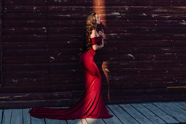 How do you style an evening gown?