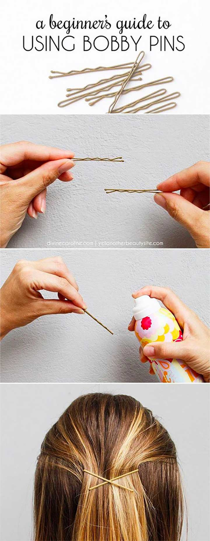 A Beginners Guide To Using Bobby Pins