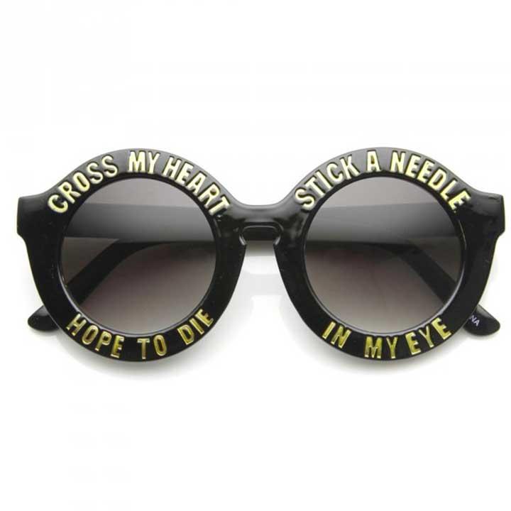 Cross My Heart Hope To Die Glasses