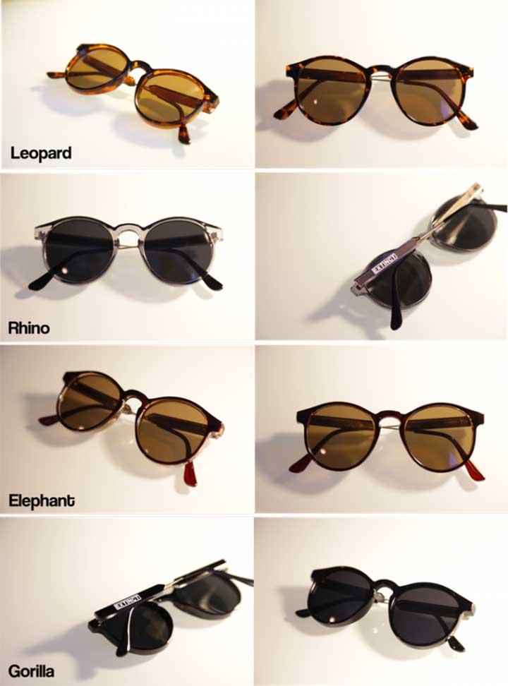 Endangered Animals Sunglasses