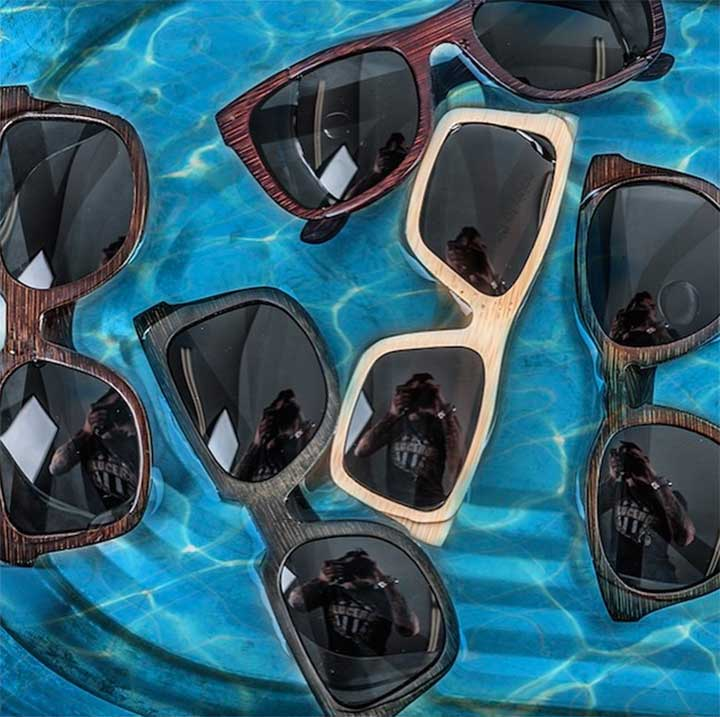 These Floatable Bamboo Frames Are The Only Sunglasses You Can't Lose In The Ocean This Summer