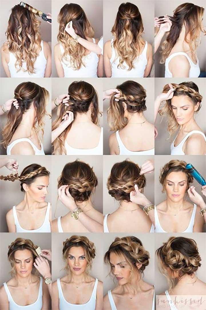 Inspiring Examples of Goddess Braids