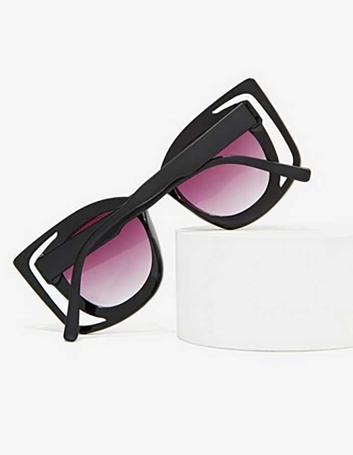 Now You See Me Cutout Sunglasses