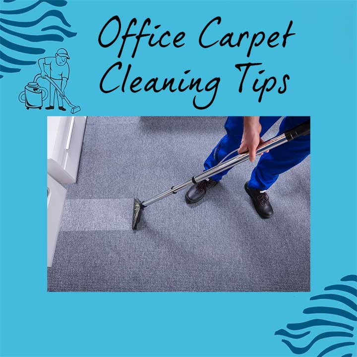 How to clean office carpet properly?