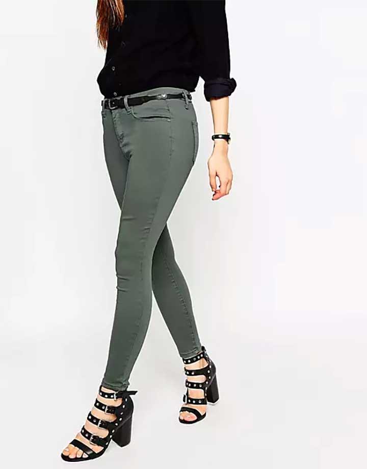 ASOS Ash Green Jeans