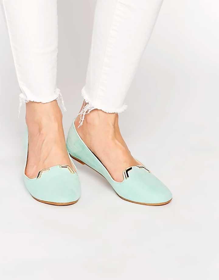 ASOS Libbie Slipper Ballet Flats