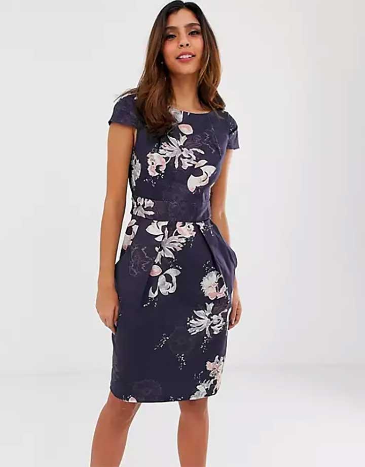 ASOs Close Tie Back Dress
