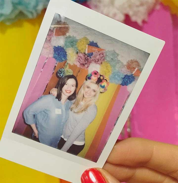 Alex Quinn and Becky Johnston, Pink Elephant Blog