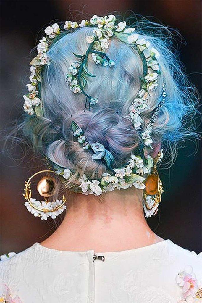 Blue Opal Hair