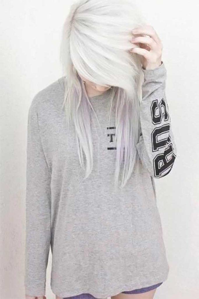 Bright White Hair