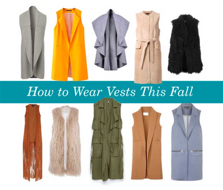 Cool Ways To Wear Vests This Fall