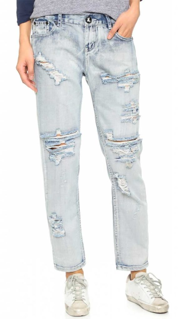 One Teaspoon 'Awesome' Distressed Jeans
