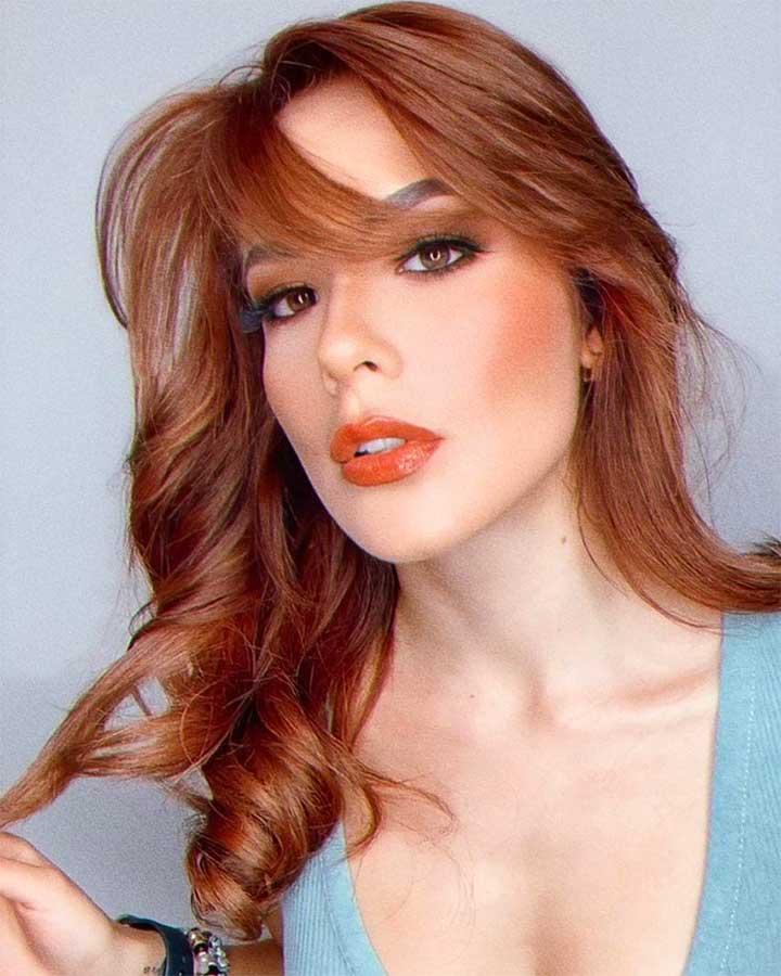 Does orange lipstick look good on everyone?