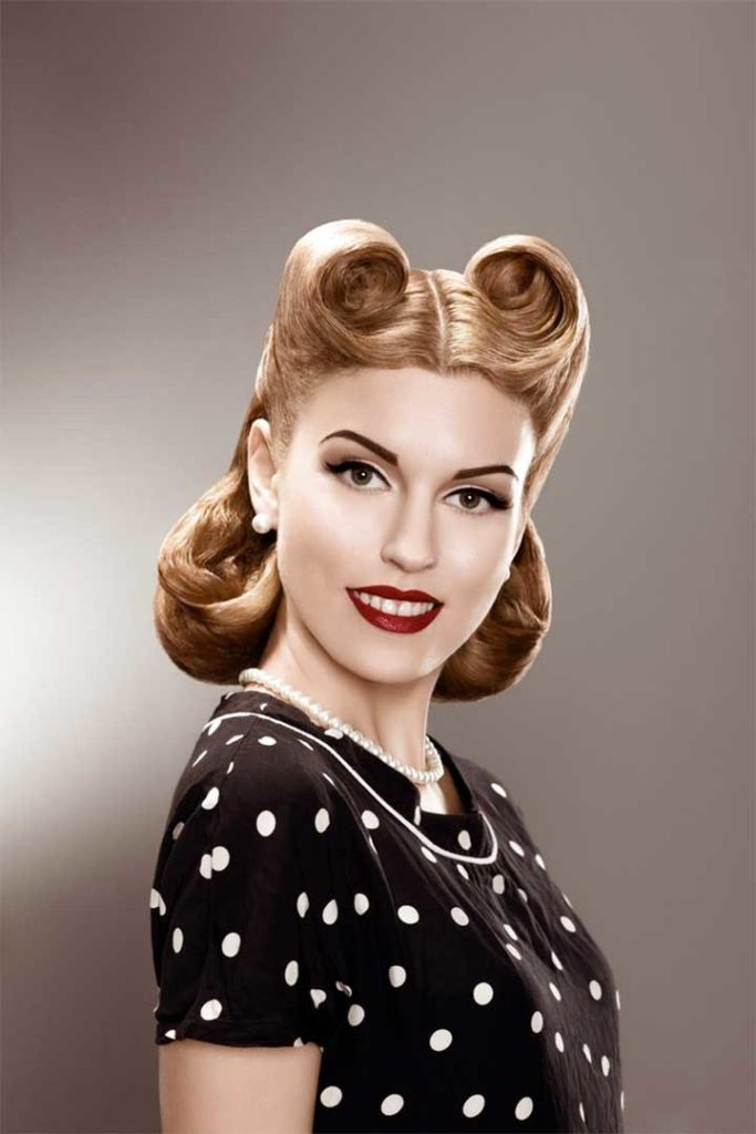 8 Easy Retro Hair Tutorials For Those Who Aspire To The Pin-Up Look