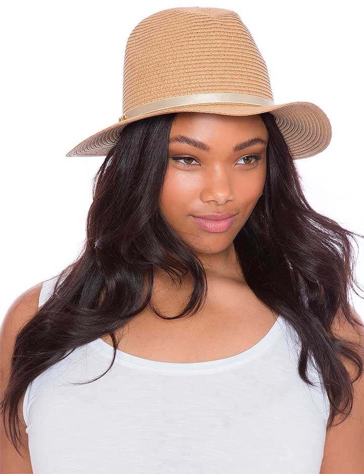 Eloquii Woven Panama Hat
