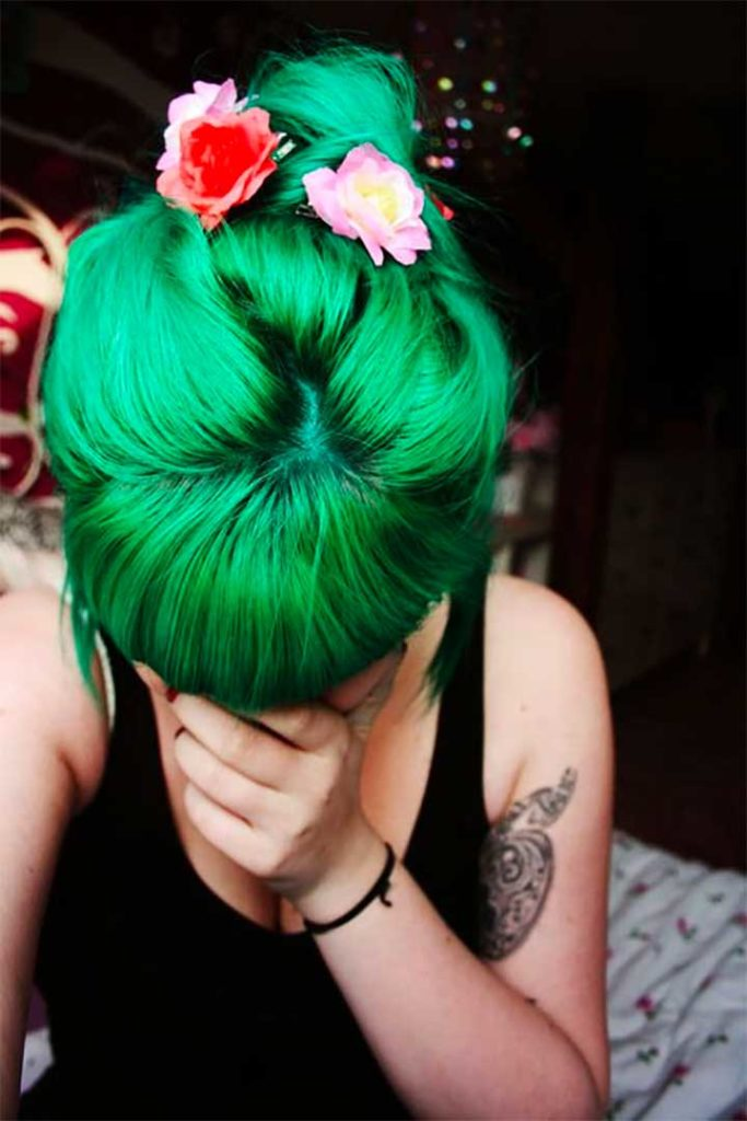 What is the best emerald green hair dye?