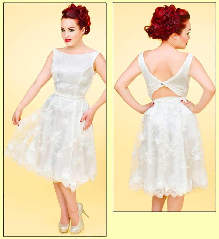 Enchanted Ivory Lace Dress