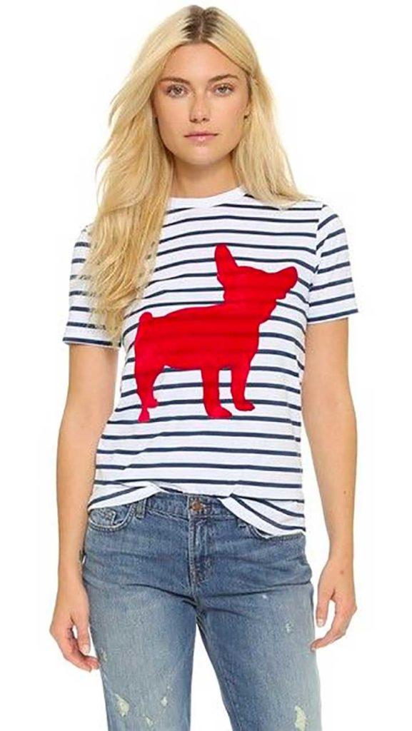 Etre Cecile Big Dog Breton T-Shirt