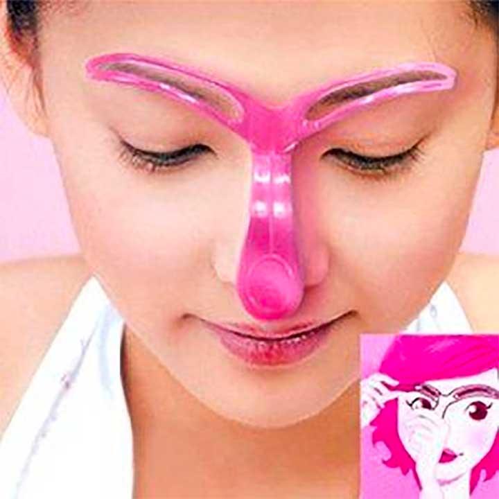Kobwa Plastic DIY Shaping Eyebrow Template