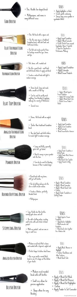 How To Use Makeup Brushes Hacks: Face Brushes