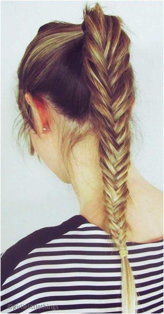 Fishtail Braid Ideas for Long Hair
